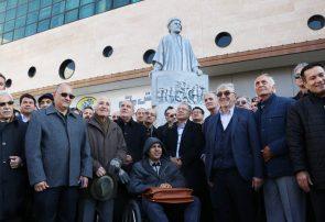 تندیس شهید «شیخ محمد خیابانی» نصب و رونمایی شد