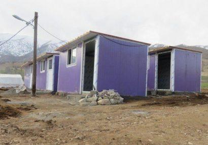 اسکان موقت ۱۸۰۹ خانوار در مناطق زلزله زده آذربایجانشرقی انجام شد