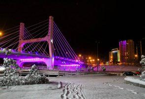 بارش برف آذربایجانشرقی را فرا میگیرد