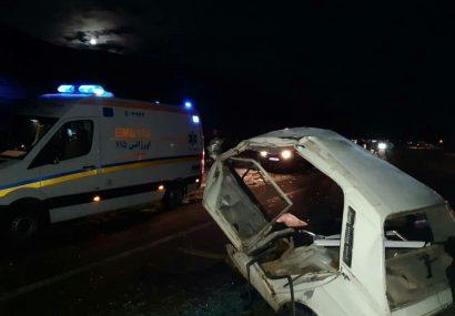 ۲ فوتی و ۱۷ مصدوم در تصادفات رانندگی آذربایجانشرقی