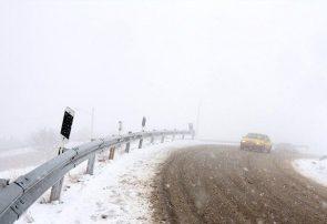 محورهای آذربایجان شرقی لغزنده و مه آلود است