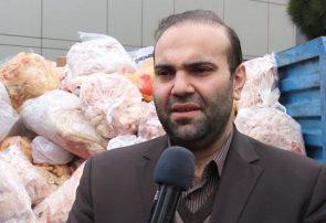 کشف، ضبط و معدوم سازی بیش از ۳٫۵ تن فرآورده خام دامی غیر بهداشتی و غیر قابل مصرف انسانی در تبریز