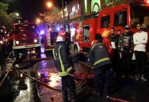 آتشسوزی در راسته کفاشان بازار تبریز