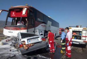 سانحه رانندگی در آذربایجان شرقی ۴ فوتی به جا گذاشت
