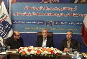 بهره برداری از ۸۶۰ میلیارد ریال طرح ارتباطی و مخابراتی در آذربایجانشرقی