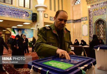 سردار خرم: هر رای، تیری به چشم آمریکای جهان خوار و اسرائیل کودک کش است