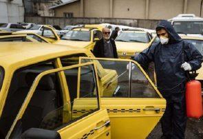 تاکسی ها و ایستگاه های تاکسی تبریز ضدعفونی می شوند
