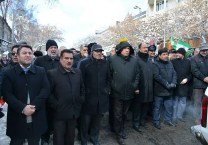 حضور پرشکوه مردم تبریز رویش گام دوم انقلاب اسلامی است