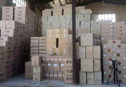یک میلیون و ۳۹۹ هزار لیتر مواد ضدعفونی کننده در تبریز کشف شد
