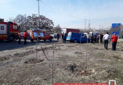 مرگ دلخراش کودک ۱۰ ساله در حادثه رانندگی اتوبان شهید کسایی تبریز