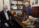 دیدار صمیمی استاندار آذربایجان شرقی با هنرمند پیشکسوت اسکویی