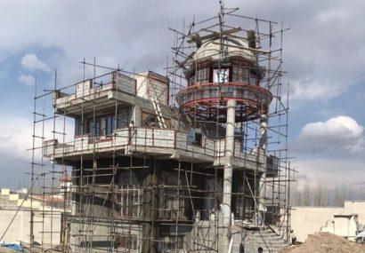 قلع و قمع ویلای مجلل ۲۵ میلیاردی در تبریز