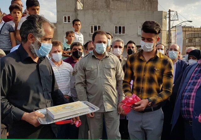 پارک شهدای محیط بان در تبریز افتتاح شد
