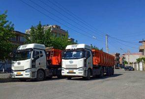 انتقال ۴۸۰ هزار تن کالای اساسی به آذربایجانشرقی