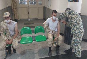 ۲ هزار دُز واکسن در تیپ ۲۵ ارتش تزریق شده است