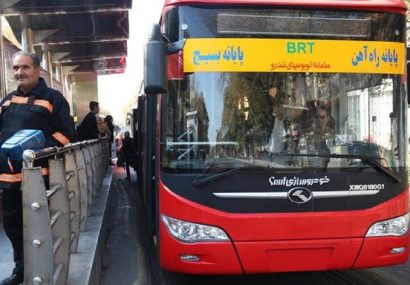 کرونا مسافران اتوبوسهای شهری تبریز را ۵۰ درصد کاهش داد