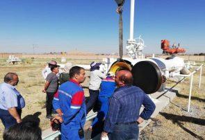 ۱۱۰ کیلومتر از خط لوله گاز تبریز – نوردوز بازرسی و پیگرانی شد