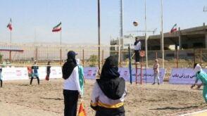 بناب و ملکان قهرمان والیبال ساحلی آذربایجانشرقی شدند